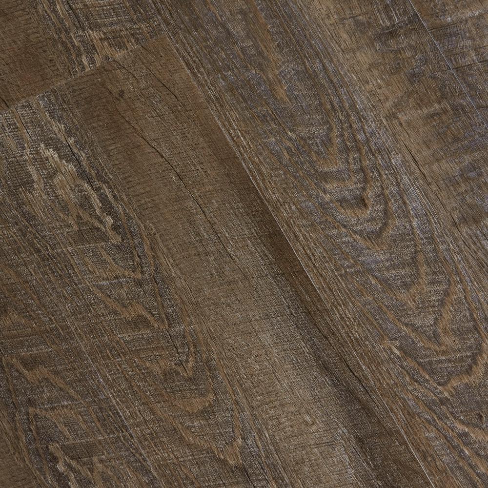 Embossed Windsong Oak 6 mm x 7-1/16 in. Width x 48 in. Length Vinyl Plank Flooring (23.64 sq.ft/case)