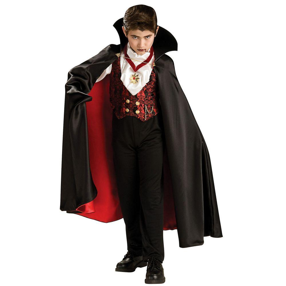 Halloween Vampire Costume Kids.Rubie S Costumes Medium Boys Transylvanian Vampire Costume