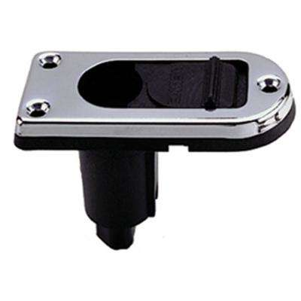 2-Pin Pole Light Base Rectangular