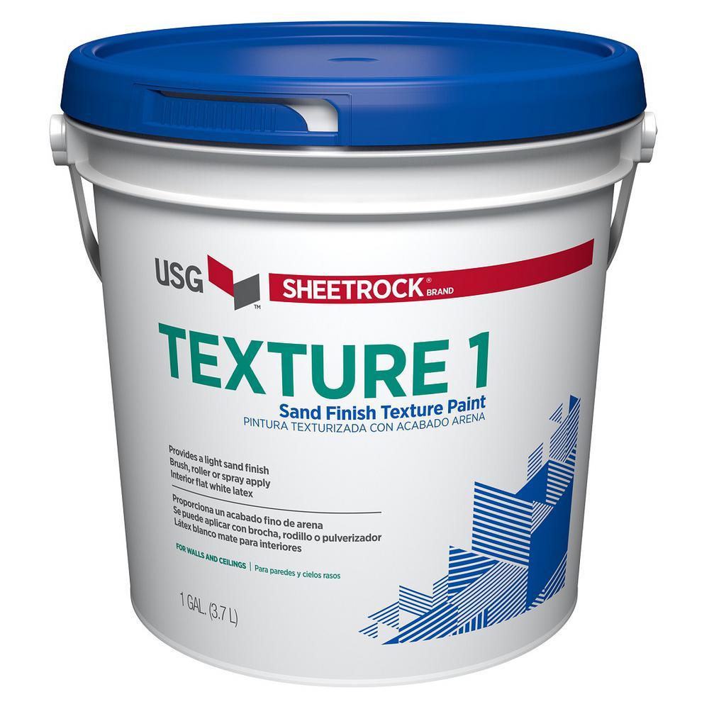 SHEETROCK Brand 128 oz Wall and Ceiling Texture Paint 547023 The