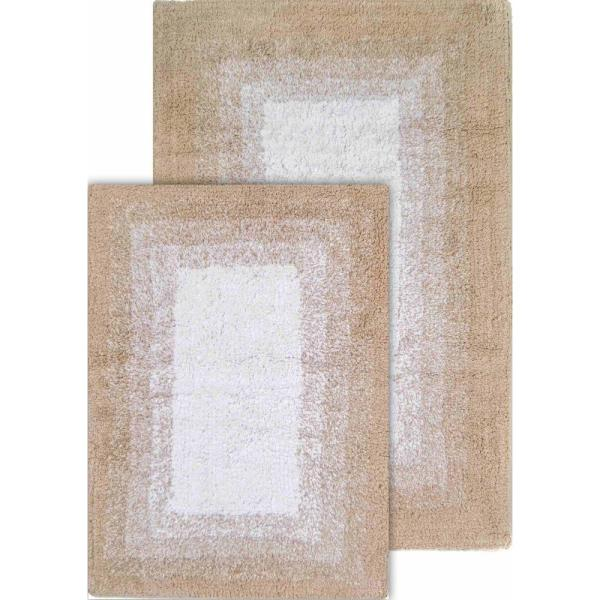 Whitney Ombre Reversible Doeskin Beige