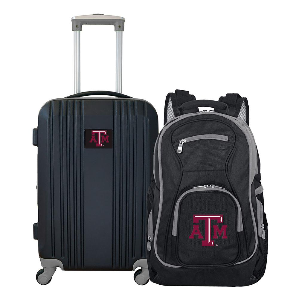 10d8b4be66264 Mojo NCAA Texas A M Aggies 2-Piece Set Luggage and Backpack-CLTAL108 - The  Home Depot