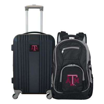 NCAA Texas A&M Aggies 2-Piece Set Luggage and Backpack