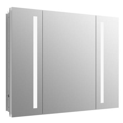 Verdera 40 in. W x 30 in. H Recessed or Surface-Mount Lighted Medicine Cabinet
