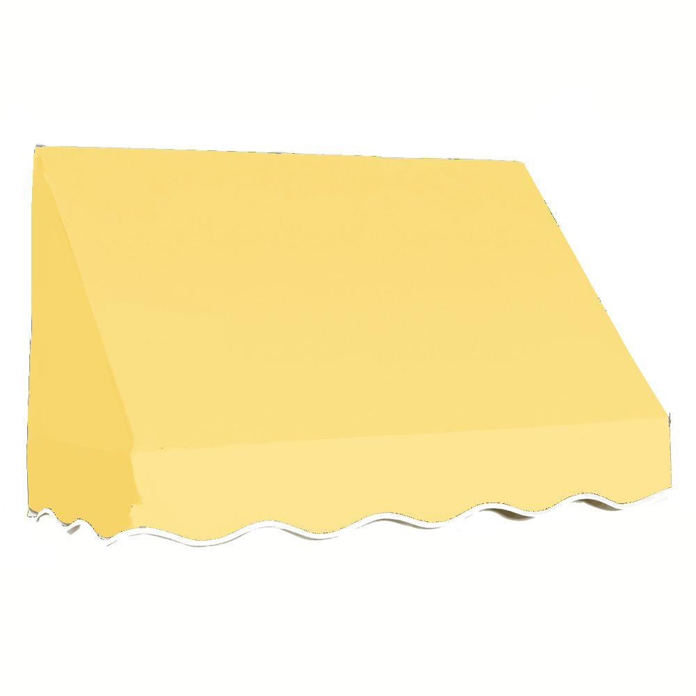 AWNTECH 5 ft. San Francisco Window Awning (31 in. H x 24 in. D) in Light Yellow