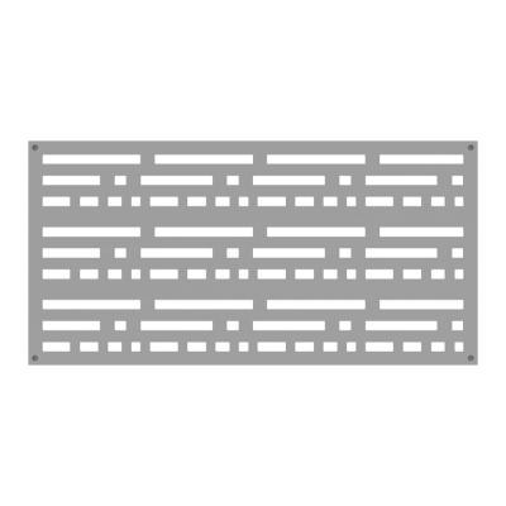 2 ft. x 4 ft. Morse Clay Vinyl Decorative Screen Panel