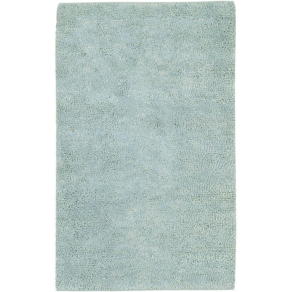 Artistic Weavers Cambridge Spa Blue 3 ft. 6 in. x 5 ft. 6 in. New Zealand Felted Wool Area Rug