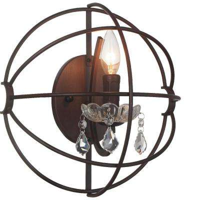 Campechia 1-Light Brown Sconce