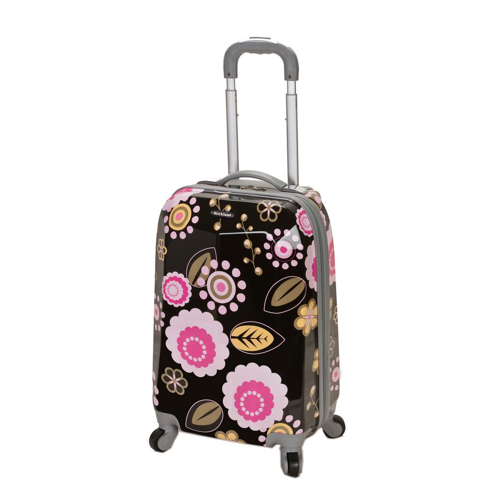 Rockland 20 in. Polycarbonate Carry-On, Pucci