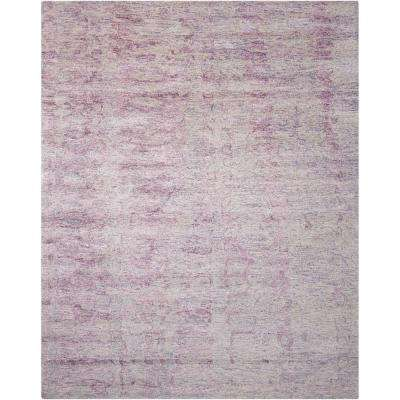 Gemstone Amethyst 9 ft. x 12 ft. Area Rug