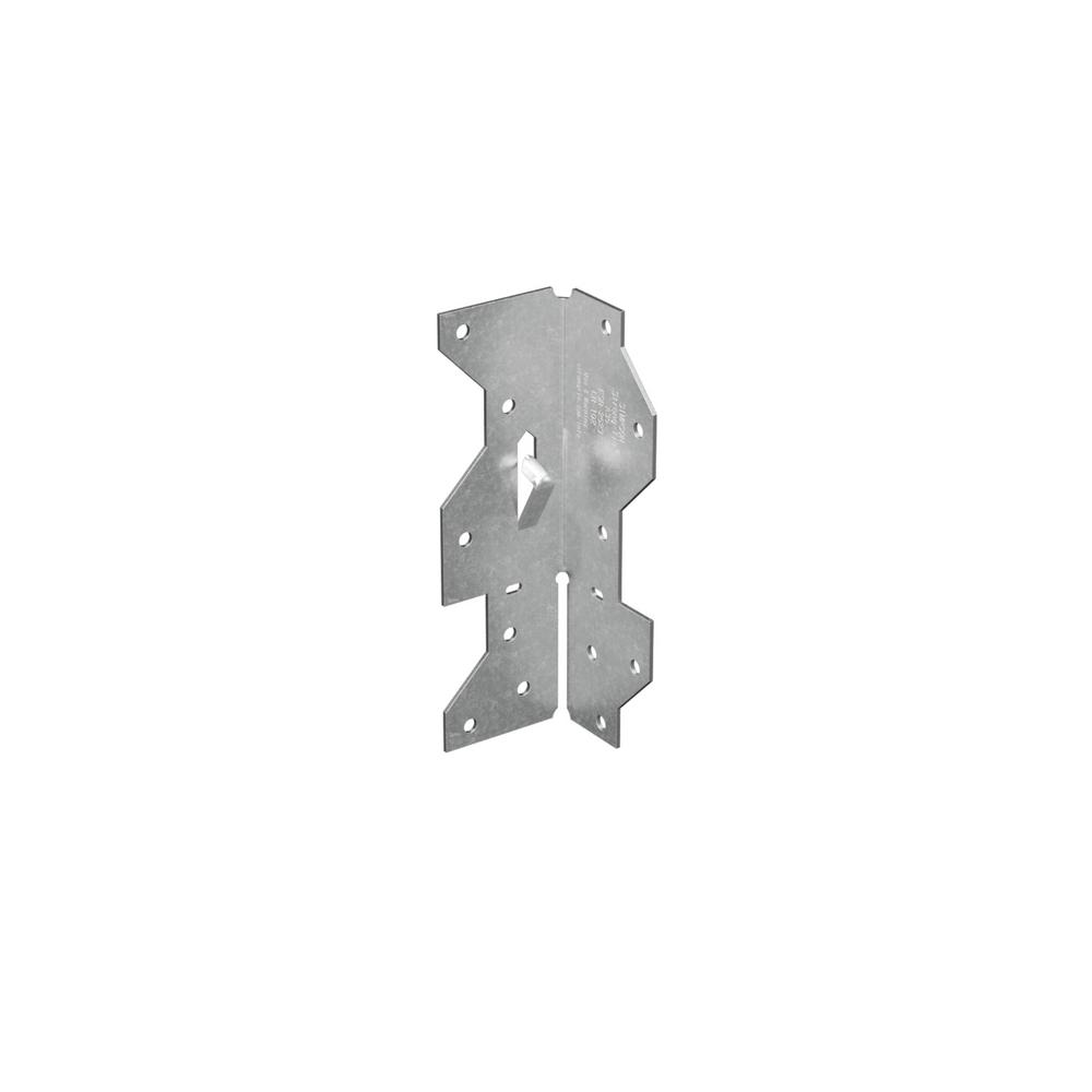 Simpson Strong-Tie 1-7/16 in. x 4-1/2 in. Galvanized Framing Angle