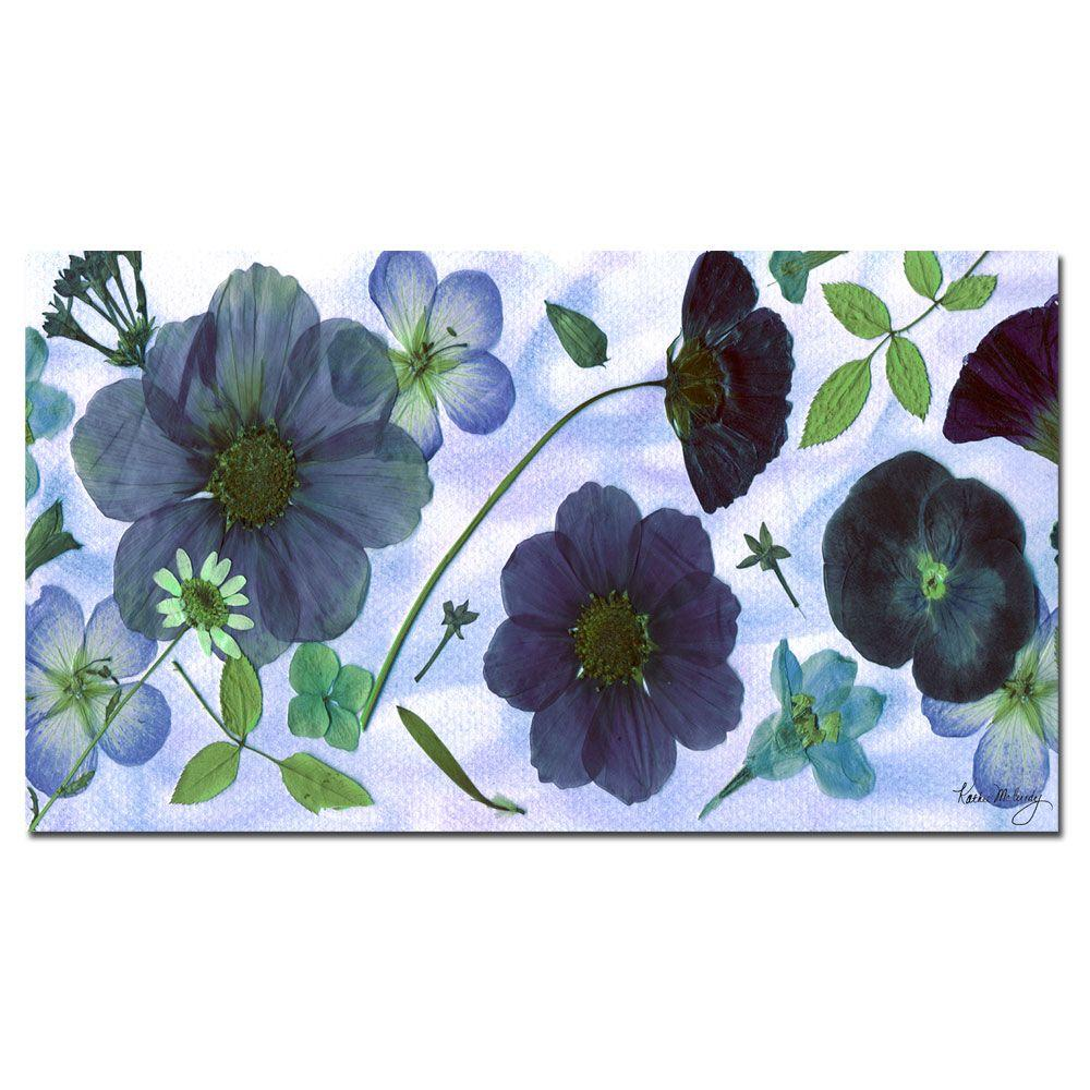 Trademark Fine Art 18 in. x 32 in. Into the Blue Canvas Art