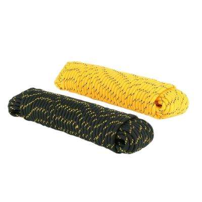 1/2 in. x 100 ft. Polypropylene Diamond Braid Rope, Assorted Colors
