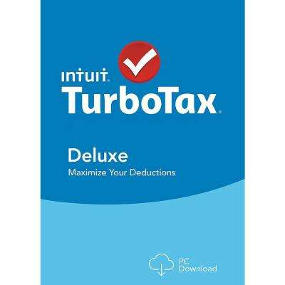 TurboTax Deluxe and State 2017 Shredder