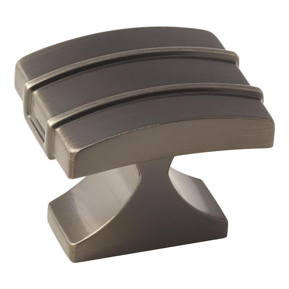 Davenport 1-1/2 in. (38 mm) Gunmetal Cabinet Knob