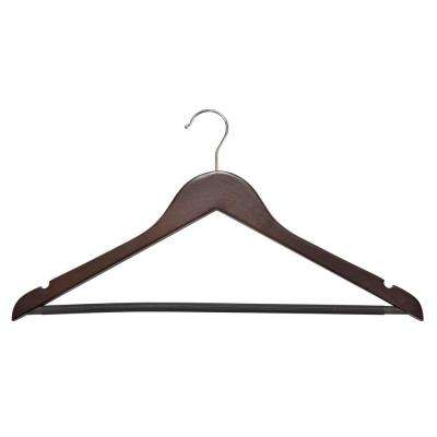 Cherry Wooden Hanger (30-Pack)