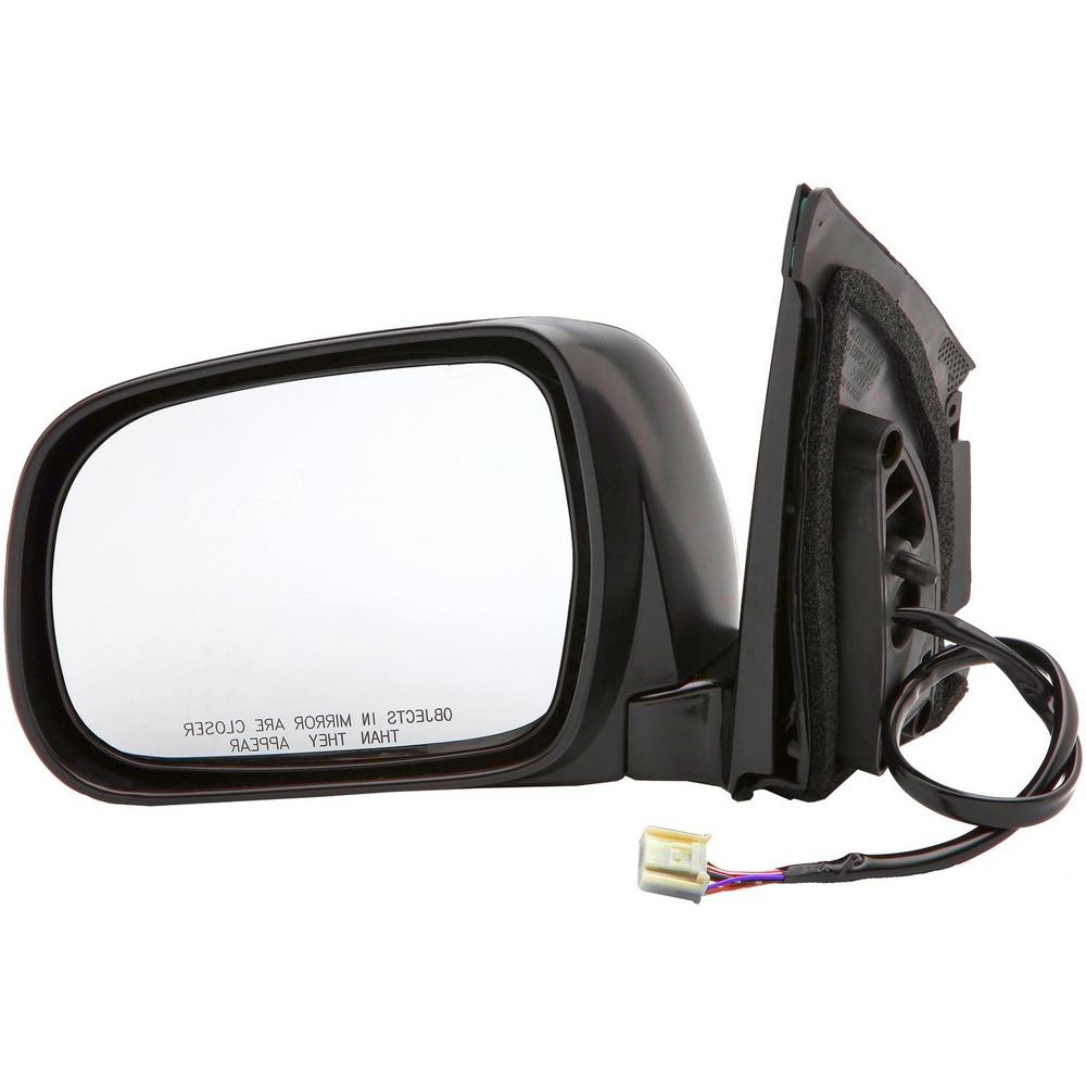 Dorman Side View Mirror - Left Power, Heated, without Memory (without Dimming); Black
