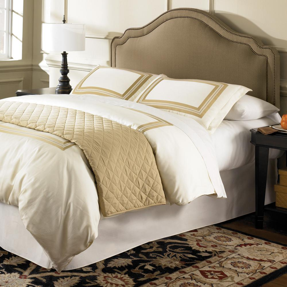 fashion bed group versailles full queen size upholstered. Black Bedroom Furniture Sets. Home Design Ideas