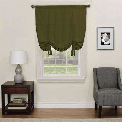 Kendall 63 in. L Artichoke Polyester Rod Pocket Curtain (1-Pack)