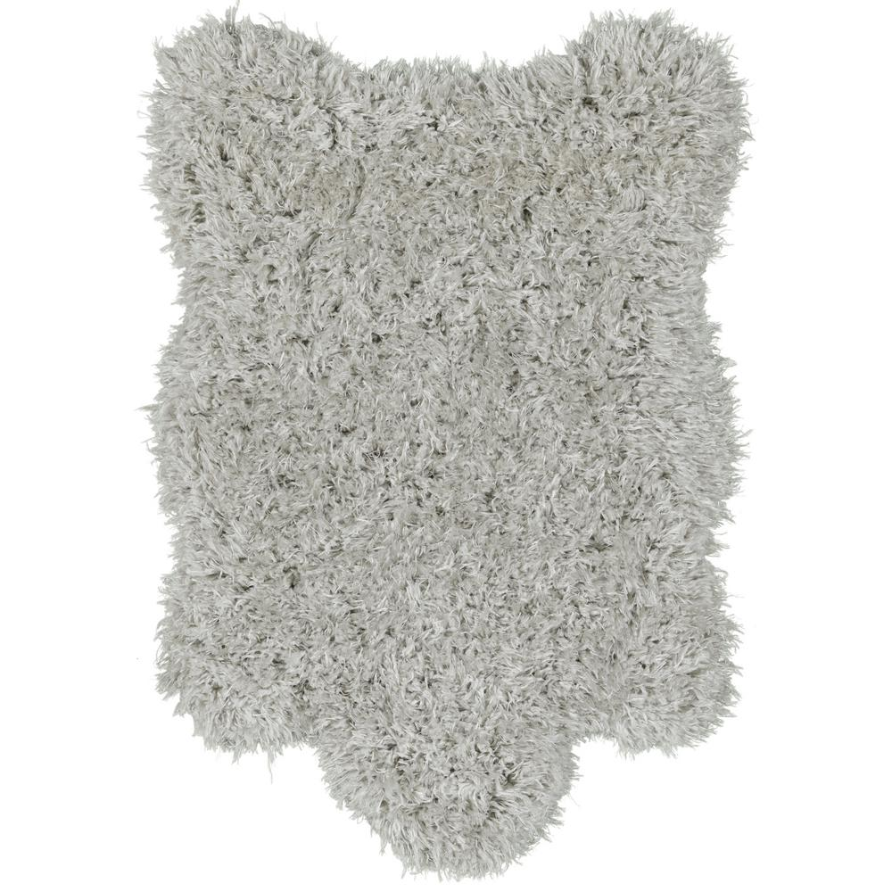 Faux Sheepskin White 10 Ft X 13 Ft Area Rug 1100 The