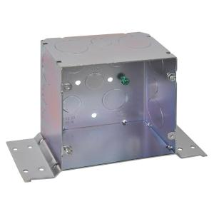 5 inch Steel Square Box with CV Bracket (20 per Case)