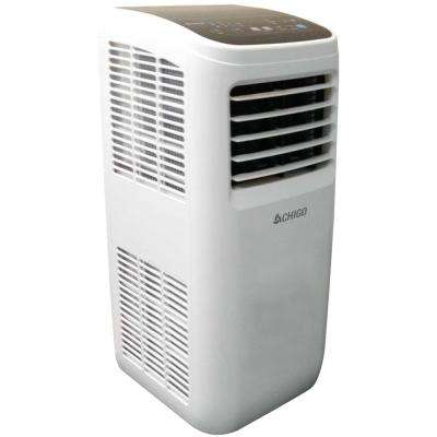 8,000 BTU Portable Air Conditioner with Dehumidifier and Remote in White