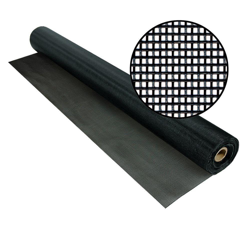 Phifer 72 in. x 100 ft. Black TuffScreen
