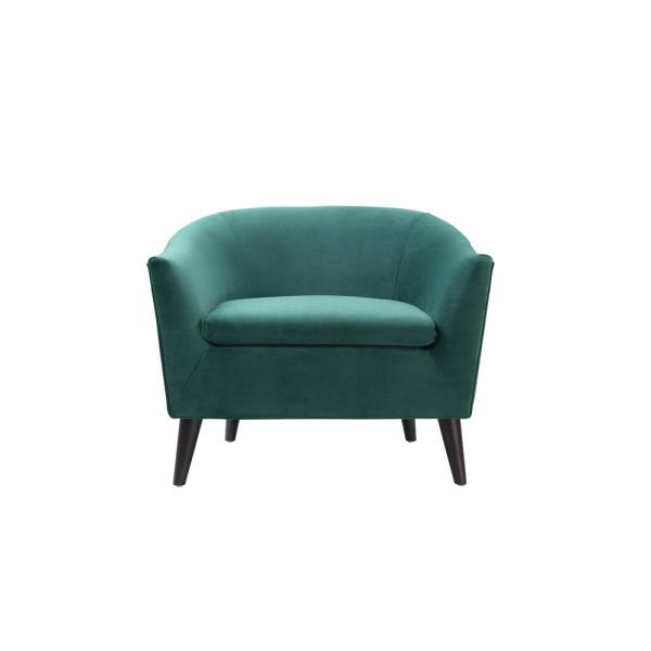 Jennifer Taylor Lia Evergreen Barrel Chair 63320-1-893