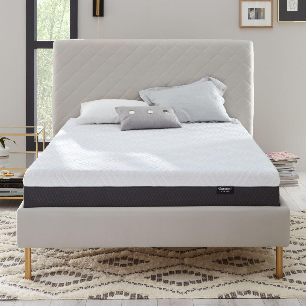 Hybrid 10 in. Medium Firm Twin Mattress