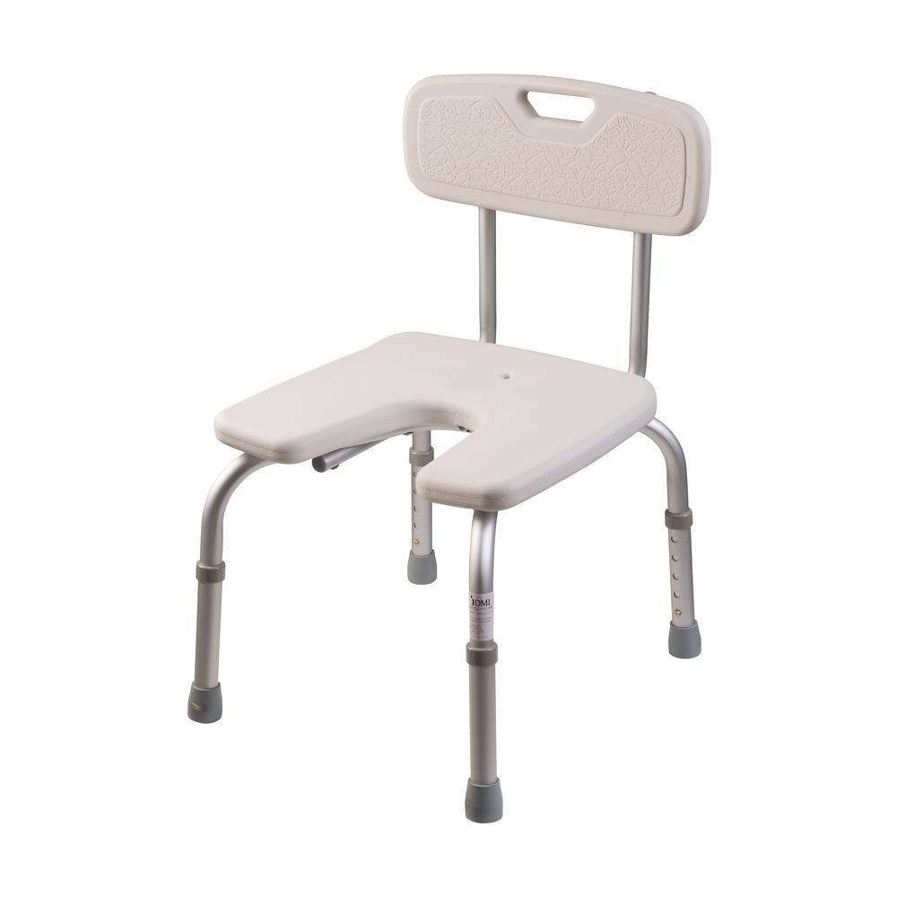 Hygienic Bath Seat with Backrest