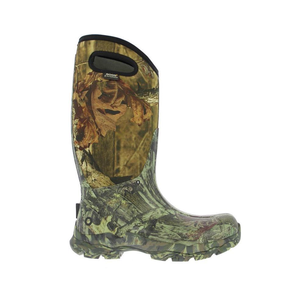 BOGS Ranger Camo Men's 14 in. Size 14 Mossy Oak Rubber with Neoprene Waterproof Hunting Boot