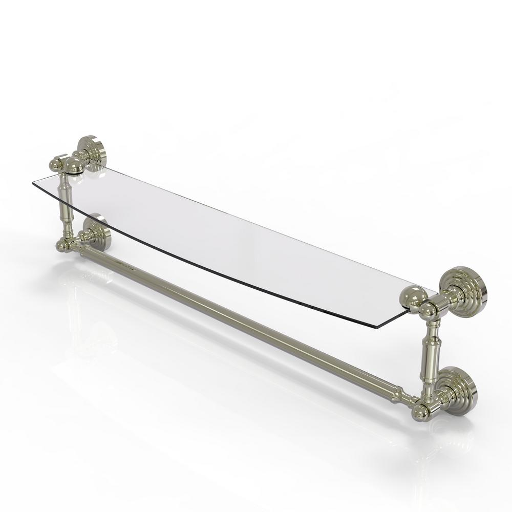 Allied Brass Waverly Place Collection 24 in. Glass Vanity Shelf ...