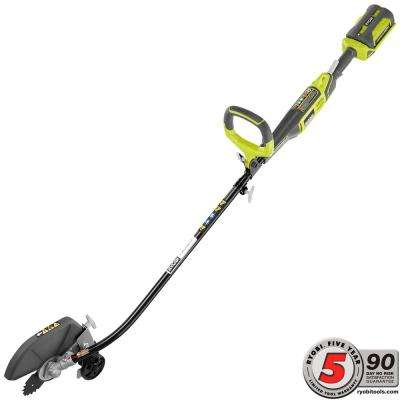 40-Volt X Lithium-Ion Cordless Attachment Capable 8 in. Straight Shaft Edger - 2.6 Ah Battery and Charger Included