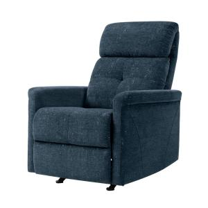 Groovy Prolounger Navy Blue Textured Chenille Rocker Recliner Chair Gmtry Best Dining Table And Chair Ideas Images Gmtryco