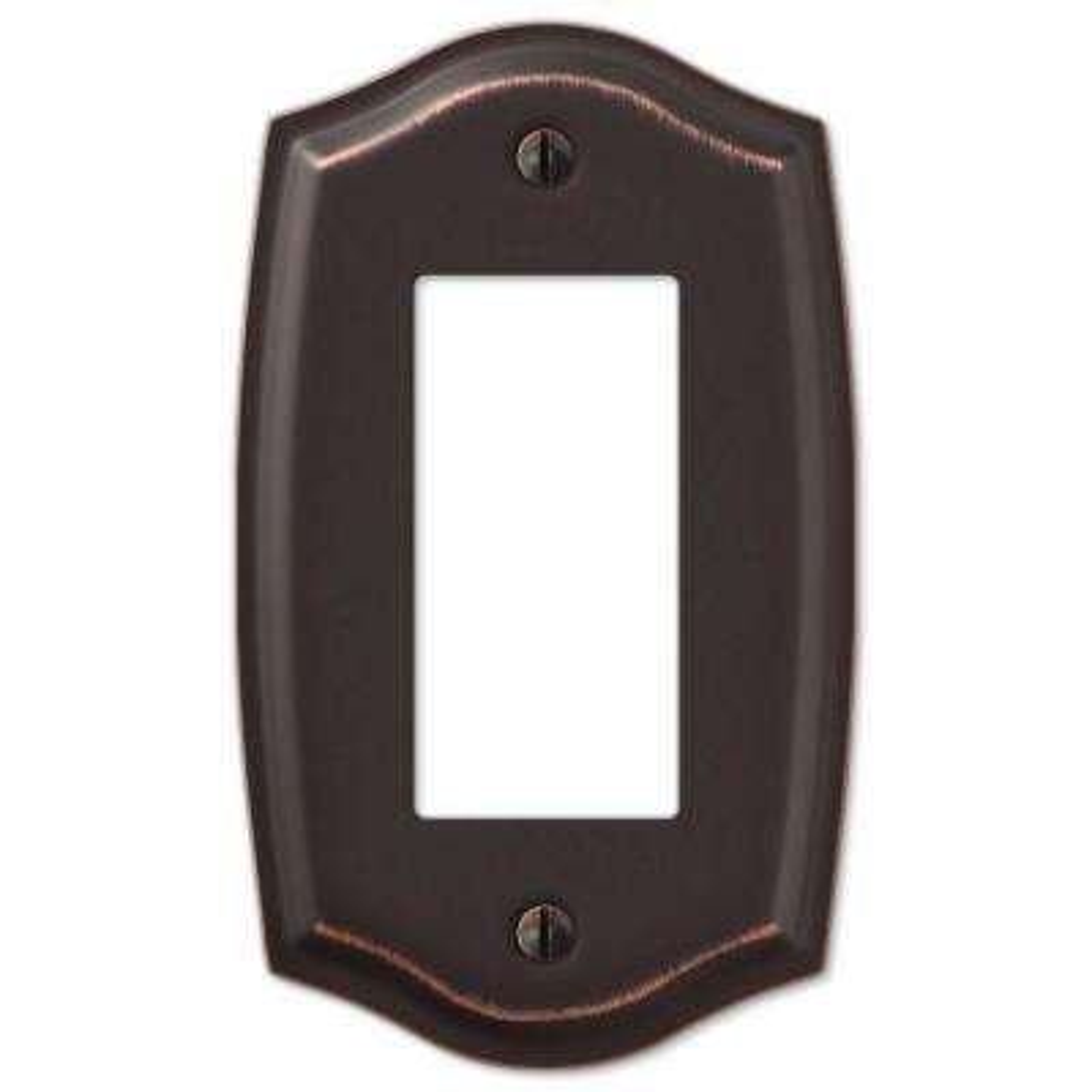 Vineyard 1 Decora Wall Plate - Aged Bronze Steel