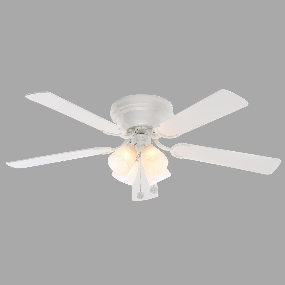 Westinghouse Contempra IV 52 in. Indoor White Finish Ceiling Fan