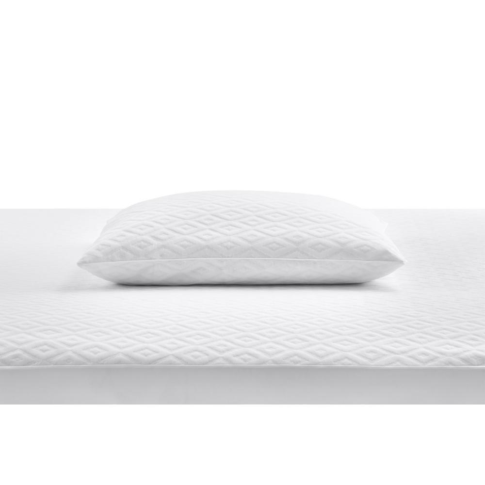 Microban Anti-Microbial White Jumbo Pillow Protector (Set of 2)