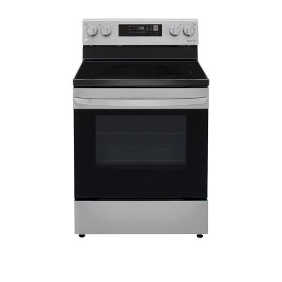 6.3 cu. ft. Electric Single Oven Range with EasyClean, Wi-Fi Enabled in Stainless Steel