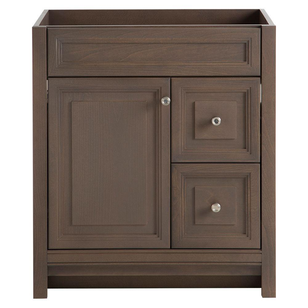 Home Decorators Collection Brinkhill 30 In. W Bath Vanity Cabinet Only In  Flagstone-BHSD30-FG - The Home Depot
