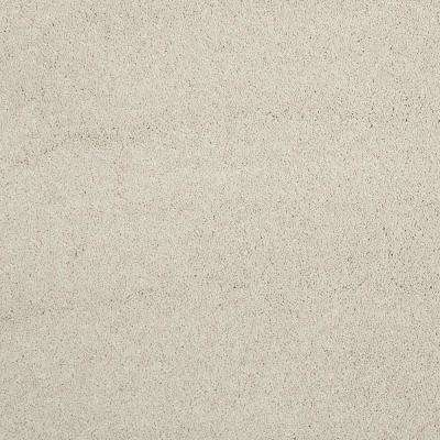 Carpet Sample - Coral Reef I - Color Pale Beach Texture 8 in. x 8 in.