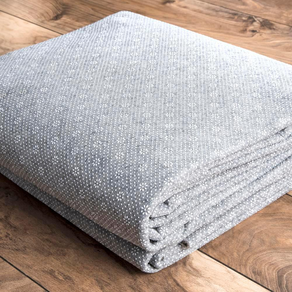 Premium Eco Friendly Gray 8 Ft X 10 Rug Pad