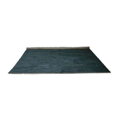 Charcoal 8 ft. x 10 ft. Solid Area Rug