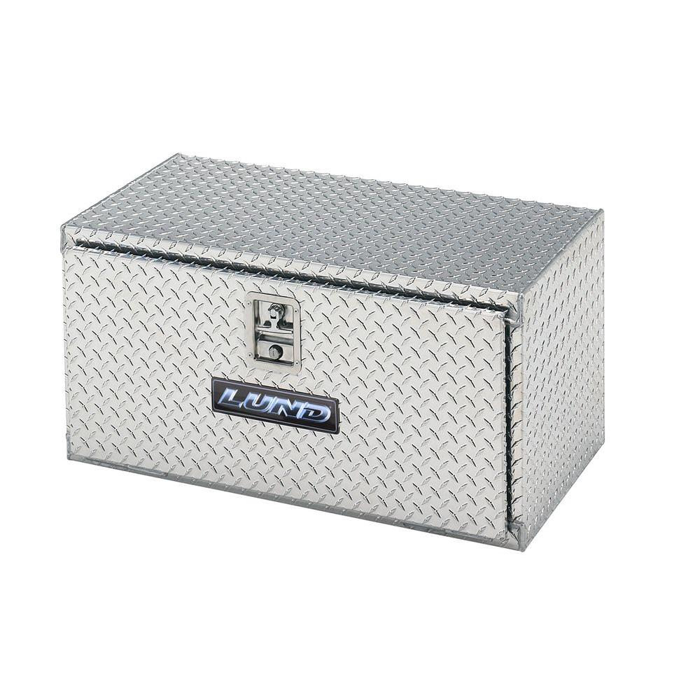 Lund 24 in. Aluminum Under Body Truck Tool Box