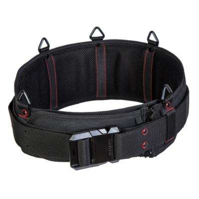 Unisex 60 Black Extra Padded Sling Belt with Quick-Release Buckle
