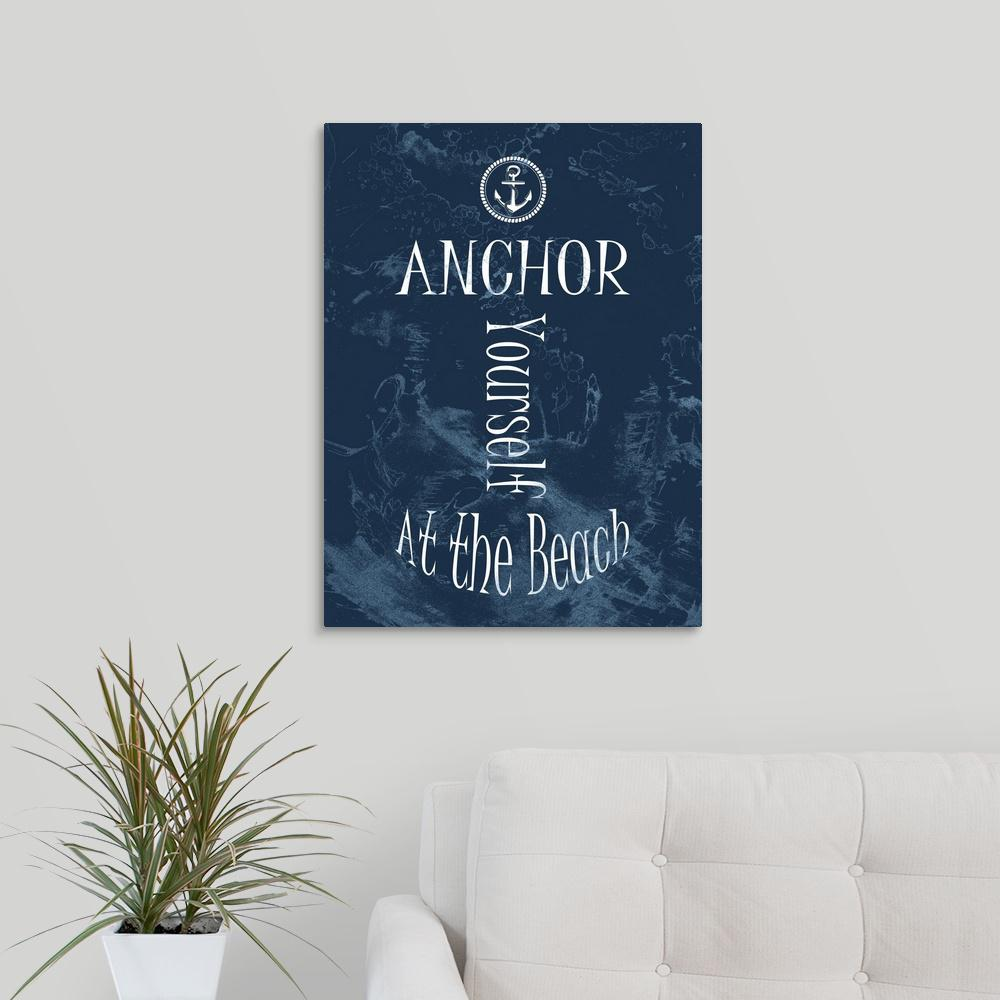 Greatbigcanvas anchor yourself navy by sheldon lewis canvas wall greatbigcanvas anchor yourself navy by sheldon lewis canvas wall art solutioingenieria Gallery