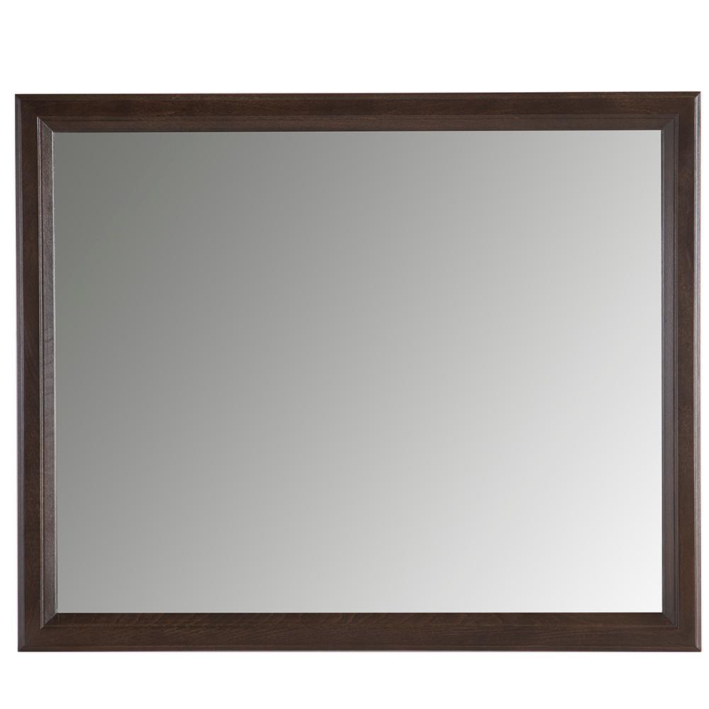31 in. W x 26 in. H Framed Rectangular Bathroom Vanity Mirror in Dusk