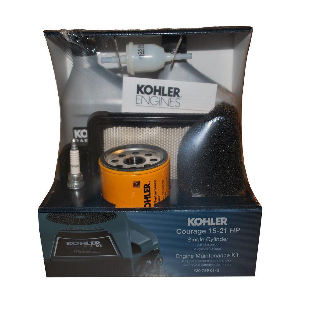 KOHLER Courage Single-Cylinder Engine Maintenance Kit-DISCONTINUED