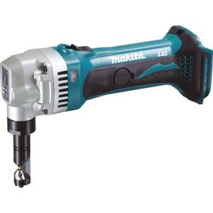 Click here to buy Makita 18-Volt LXT Lithium-Ion 16-Gauge Cordless Nibbler (Tool-Only) by Makita.