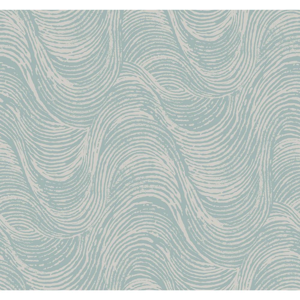 York Wallcoverings Ronald Redding Designs Masterworks Great Wave Wallpaper SD3703