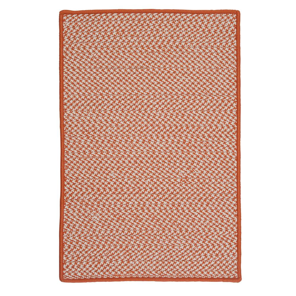 Home Decorators Collection Sadie Tangerine 8 Ft X 11 Ft Indoor Outdoor Braided Area Rug